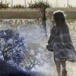 Imagined Moment | child, wall and tree montage
