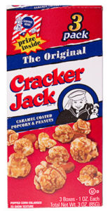 Cracker Jack box